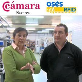 Cámara Navarra – Osés RFID y Ayto. de Peralta